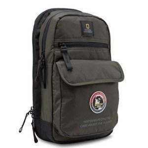 National Geographic Explorer Sling Bag khaki