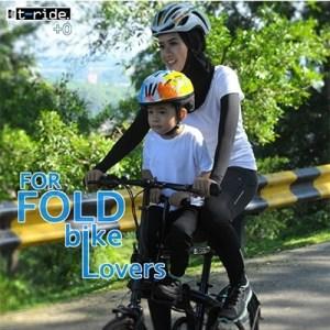 Sauf ODP 0293 T-Ride Child Bike Carrier +0 frosty black