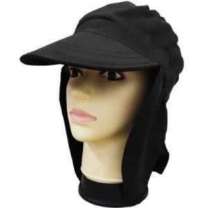 ODP 0315 Sun Protection Flap Cap black
