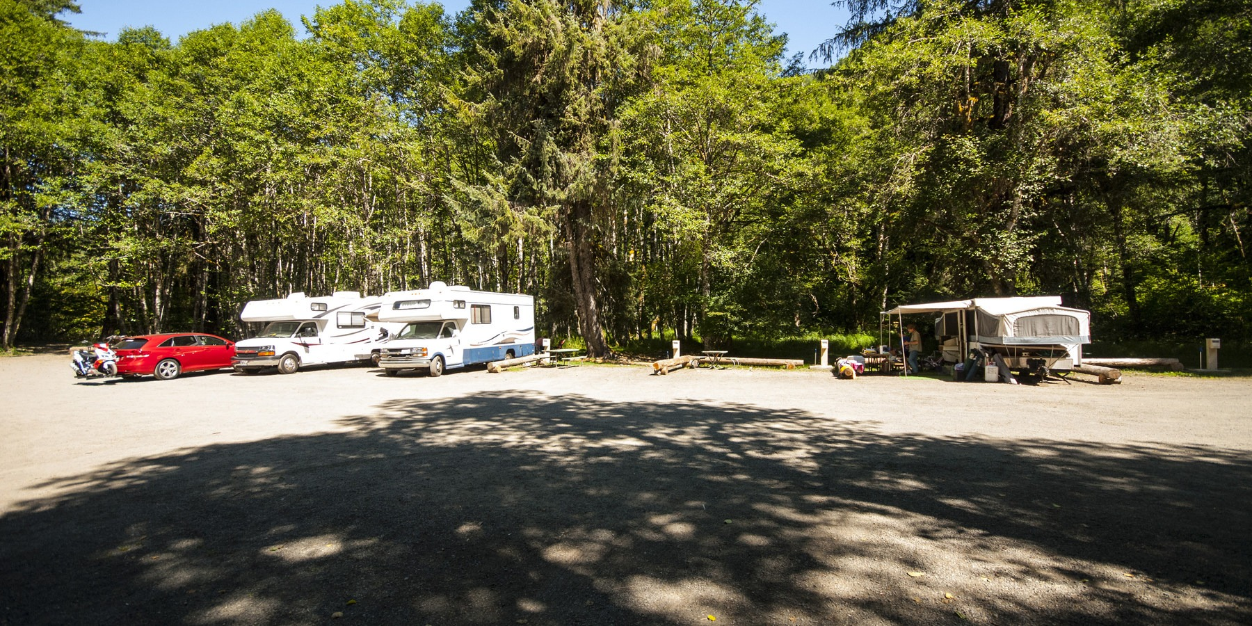 Sol Duc Campground Outdoor Project