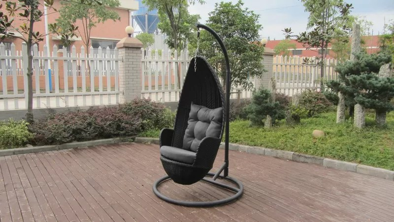 swing chair stand online vintage wingback aluminum frame rattan
