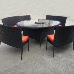 Porch Table And Chair Set Covers Canada Rattan Garden Dining Sets With Bench Patio