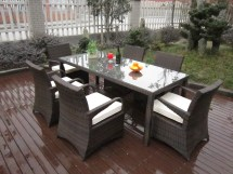 rattan garden dining sets washable
