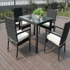 Outdoor Chair Set Wheelchair Toy Patio Furniture Aluminum Frame Dining