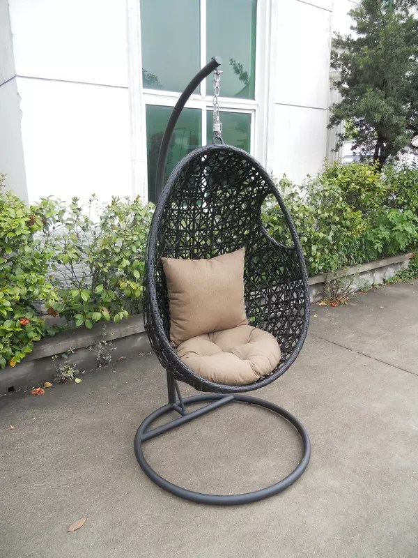 swing chair stand online accent chairs under 200 2 comfortable leisure cane / rattan for living room