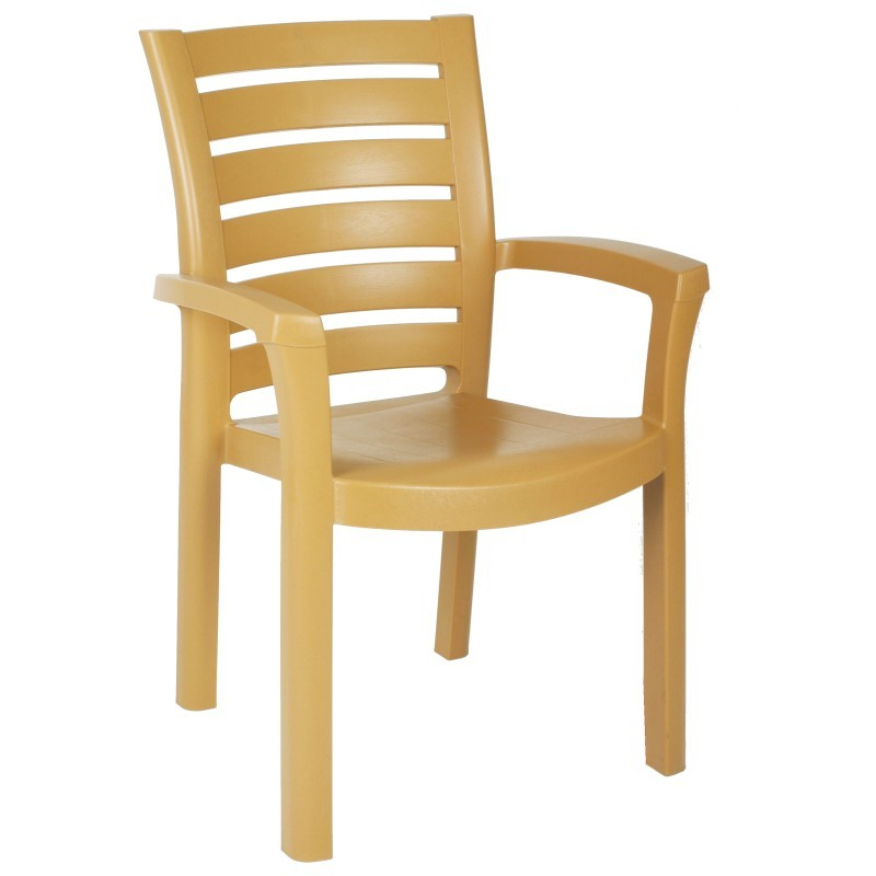Marina Stacking Plastic Resin Outdoor Restaurant Chair