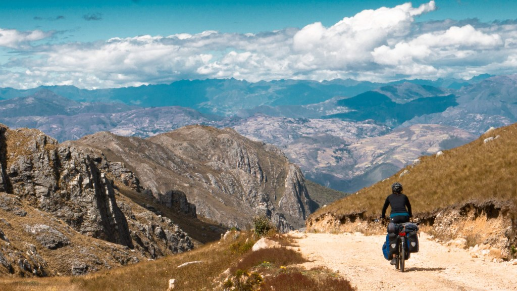 Cycling in Peru; The Cajamarca Caraz bikepacking route