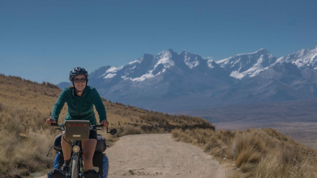 Cycling from Huaraz to Cajatambo, the Peruvian Andes