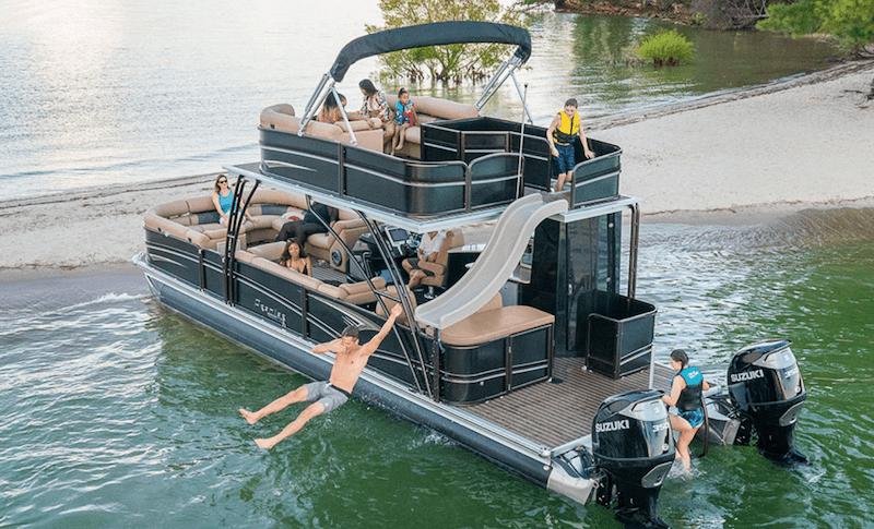 stunning luxury pontoon boats for 2020