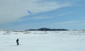 Snow Kiting - Tablelands