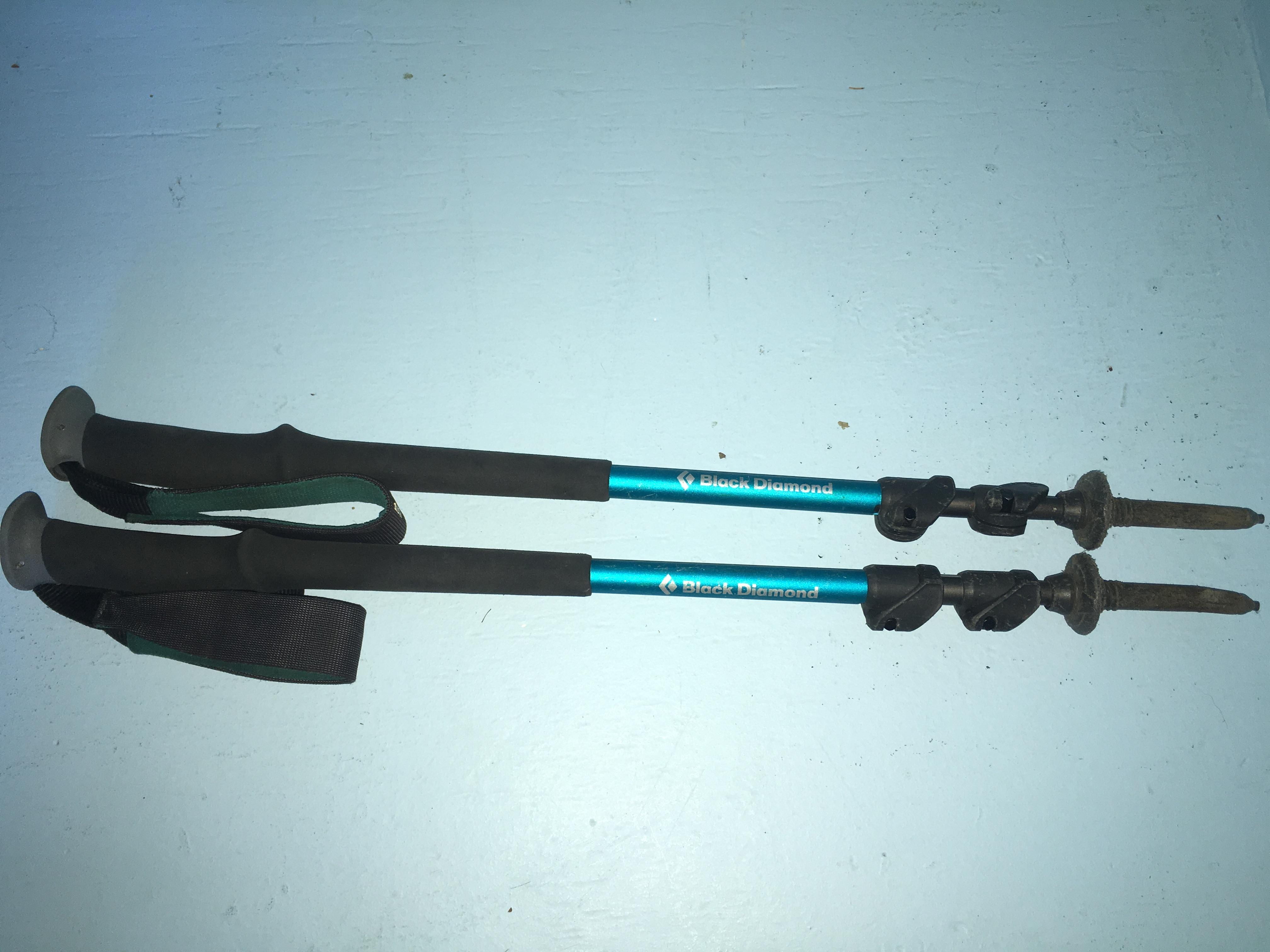 black diamond poles