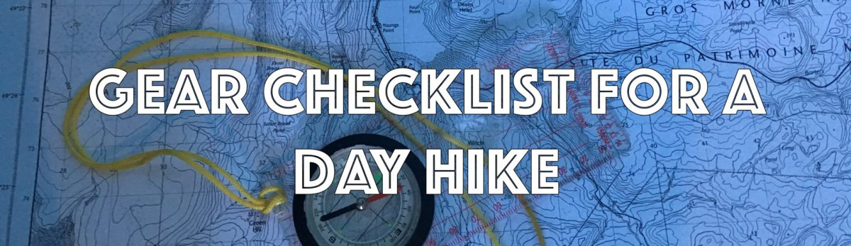 Adventure How To: Checklist for a Day Hike
