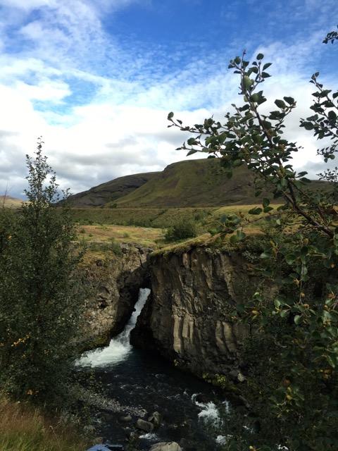 Laugavegur Waterfall