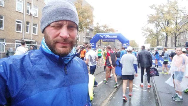 Startblock Amsterdam Halbmarathon
