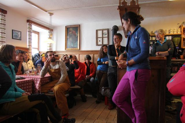 Latzfonser Hütte der Eltern von Extrembergsteigerin Tamara Lunger