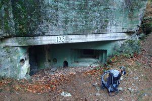 Offener Bunker auf dem Buhlert
