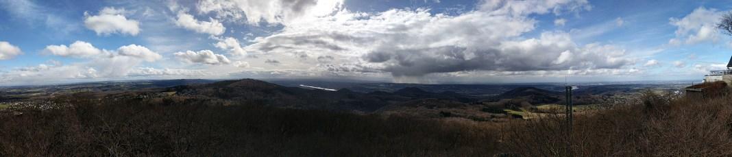 Ausblick vom Großen Ölberg