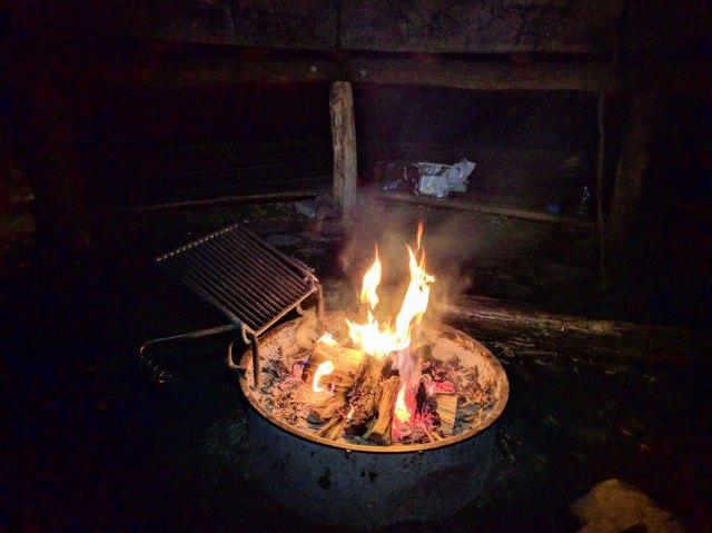 Das Lagerfeuer – dieses Mal in Dänemark