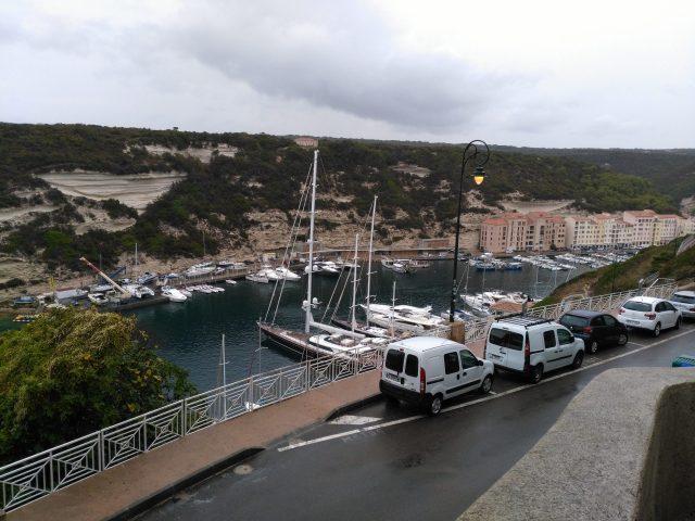 Bonifacios Hafen Korsika