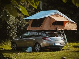 Dachzelt Outdoorseite