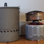 1.7L pot next to the reactor on 230g canister
