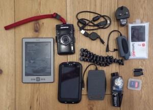 Electronics for a thru hike