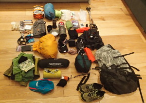 Sorting out for the Cape Warth Trail