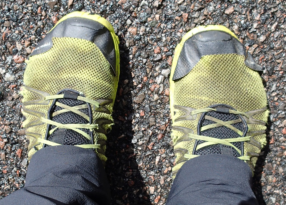 Inov-8 Trailroc 235 at the start of the Cape Wrath Trail