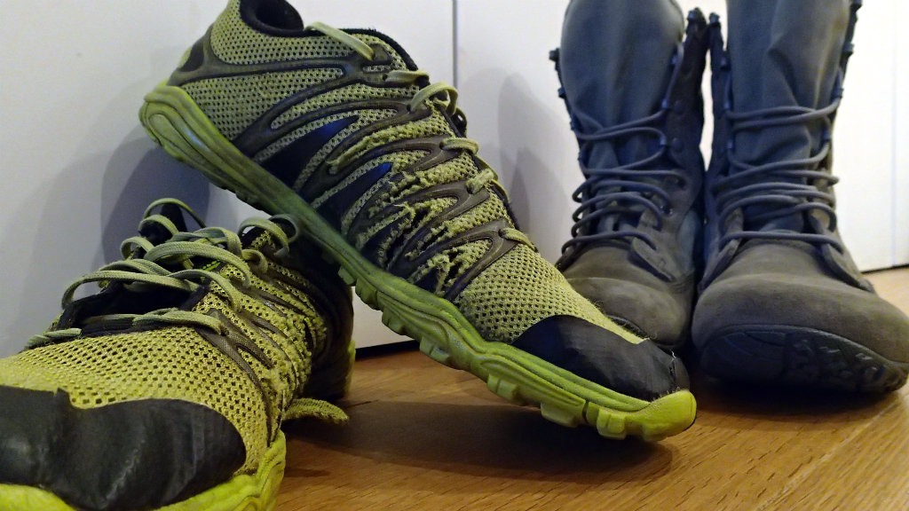 Another change in my hiking footwear - from trail shoes to minimalist boots