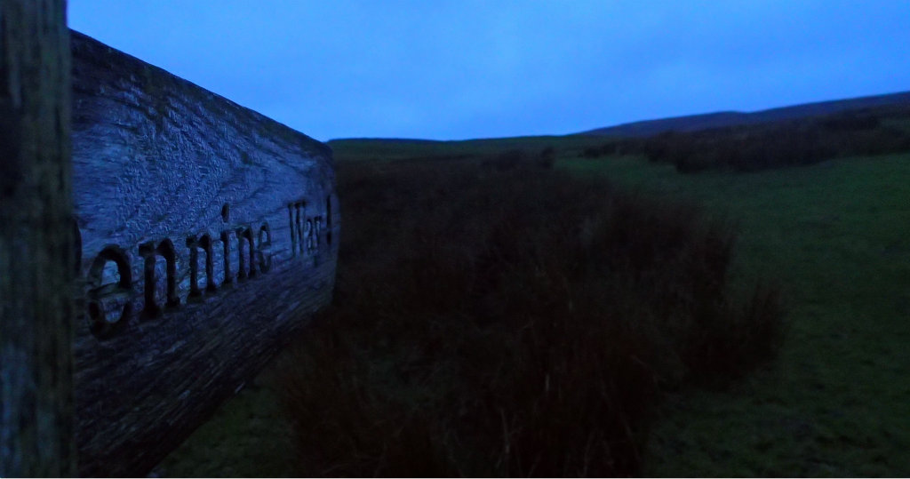 Early start on the Pennine Way