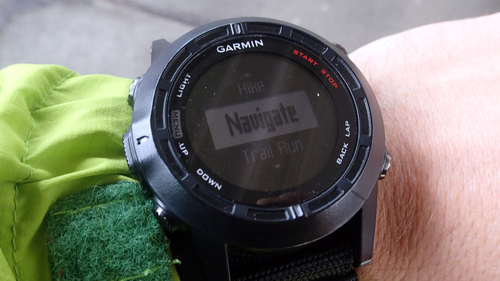 The GPS watch as a navigation aid