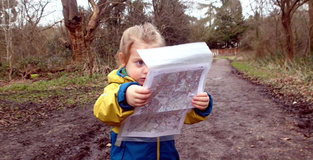 Always make sure you have a map with you.... and a navigator!