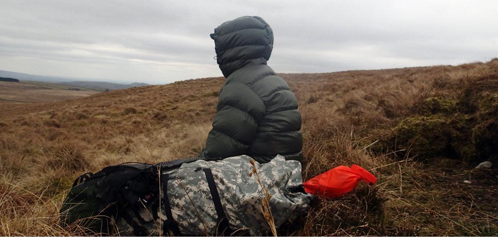 Resting on a frozen Lake District break
