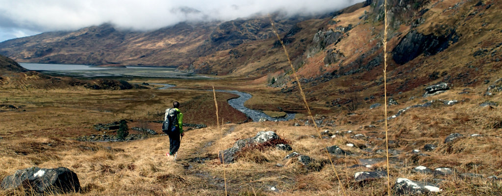One of the best views of the Cape Wrath Trail