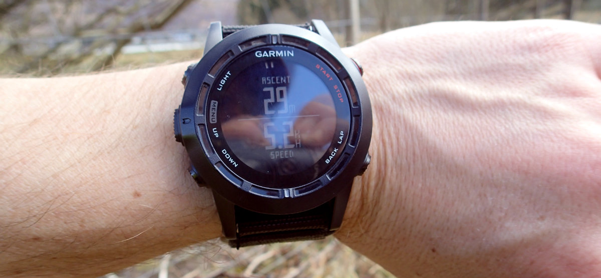 Garmin Fenix 2 GPS watch freezing for the first time