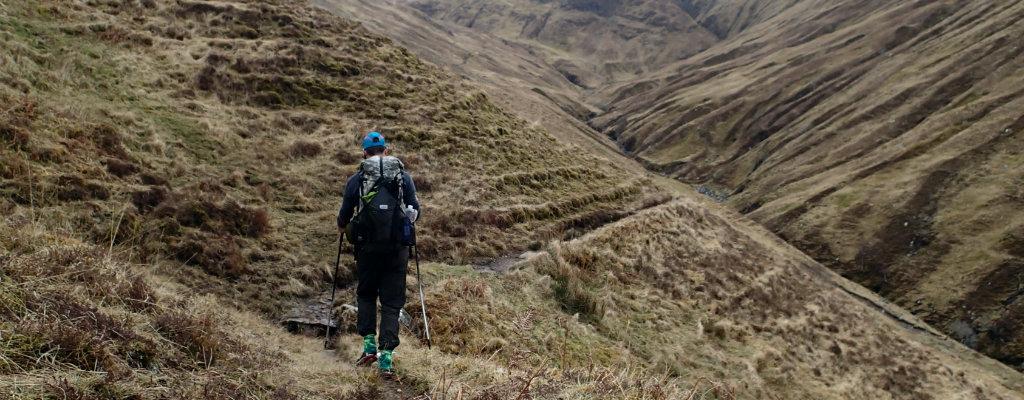 Outdoors Fatherism - Falls of Glomach, Scotland, UK