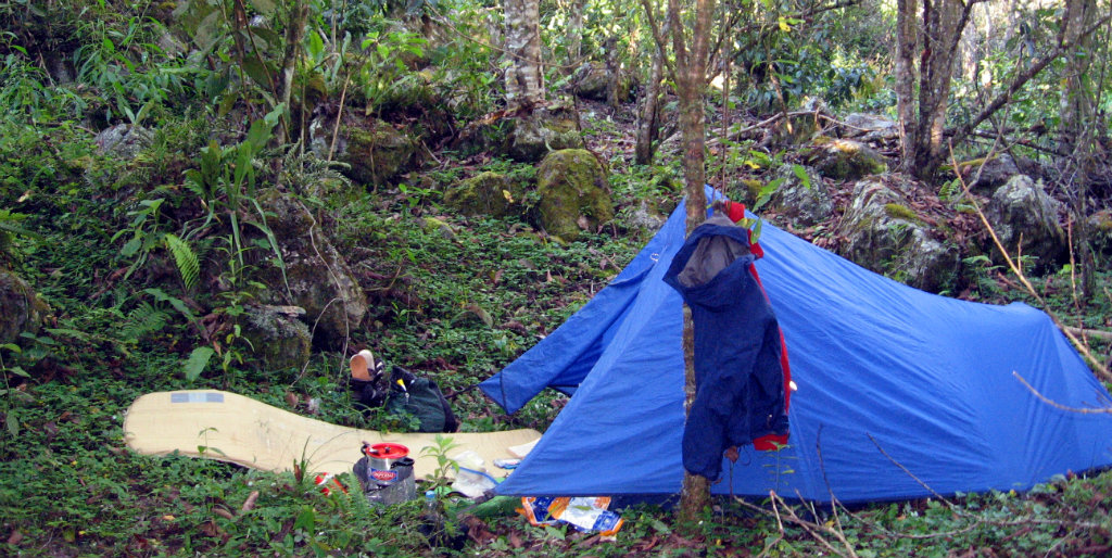 Exped sleeping pad in Peru