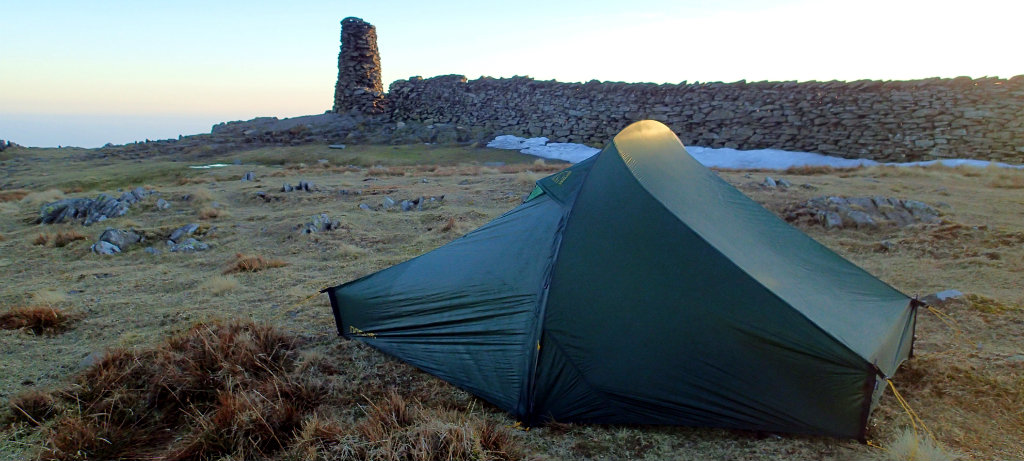 Nordisk Telemark UL 1, a small specialist tent maker