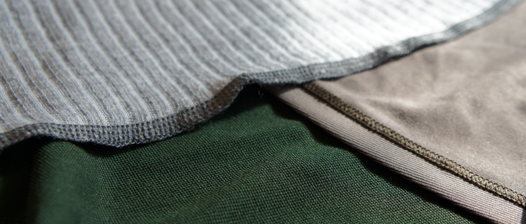 Three ways to make a Polyester based fabric - it is all in the construction of the fabric