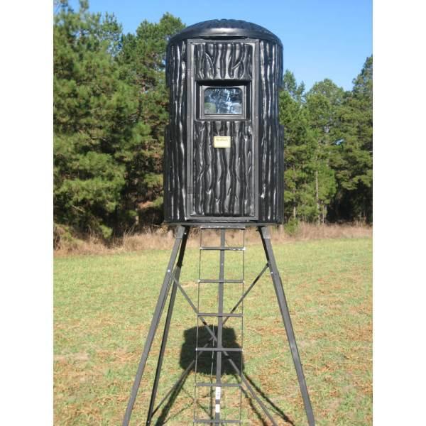 Realbark Plastic 4 Ft. Diameter Xtreme Gun Deer Hunting Blind