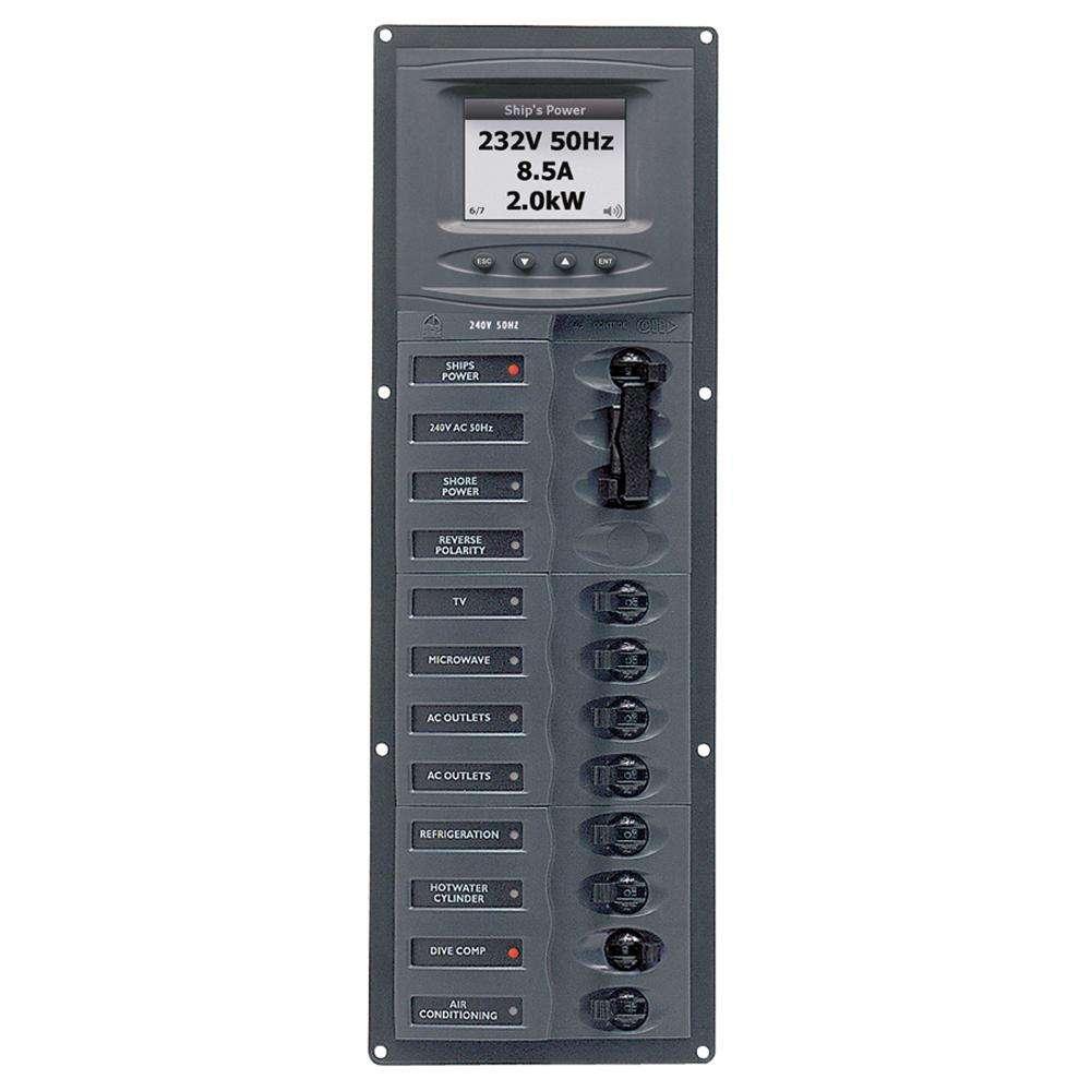 medium resolution of ac circuit breaker panel w digital meters 8sp 2dp ac230v 240 volt breaker wiring diagram electrical