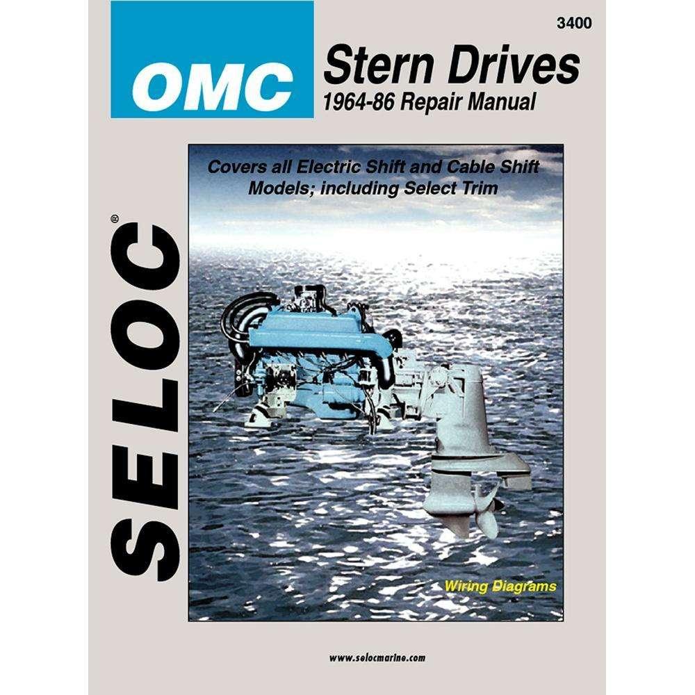 medium resolution of seloc service manual omc stern drive 1964 86 instructional repair manual outdoorshopping com at outdoorshopping