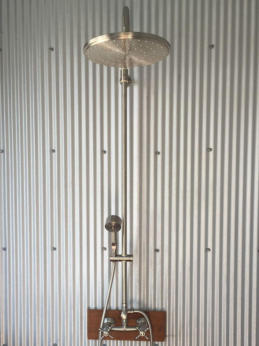 Types Of Outdoor Shower Plumbing Outdoor Shower Company
