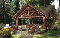 Small Backyard Pavilion Decorating Ideas
