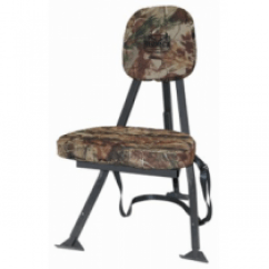 Duck Hunting Chair Urethane Casters For Office Chairs Blinds Deer Ground Pop Redneck Portable Black