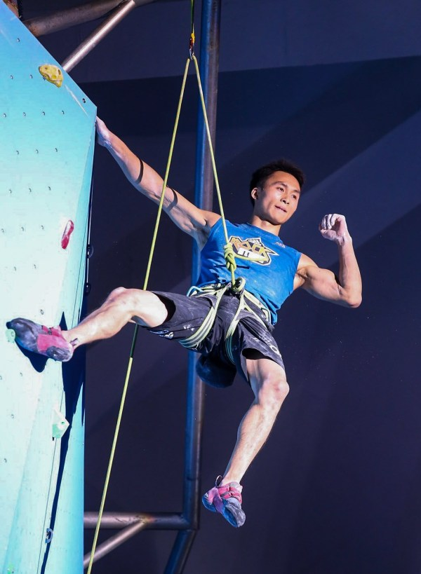 Evolv Signs Top Chinese Climber Haibin Qu Outdoor