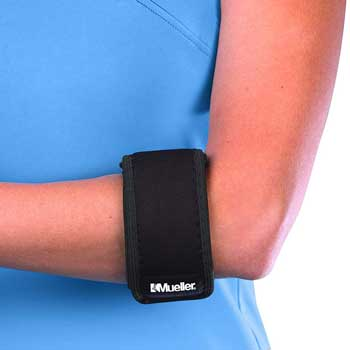 Mueller Tennis Elbow Support Black
