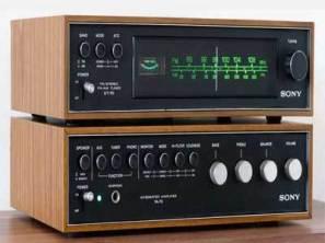 Stareo vintage receiver