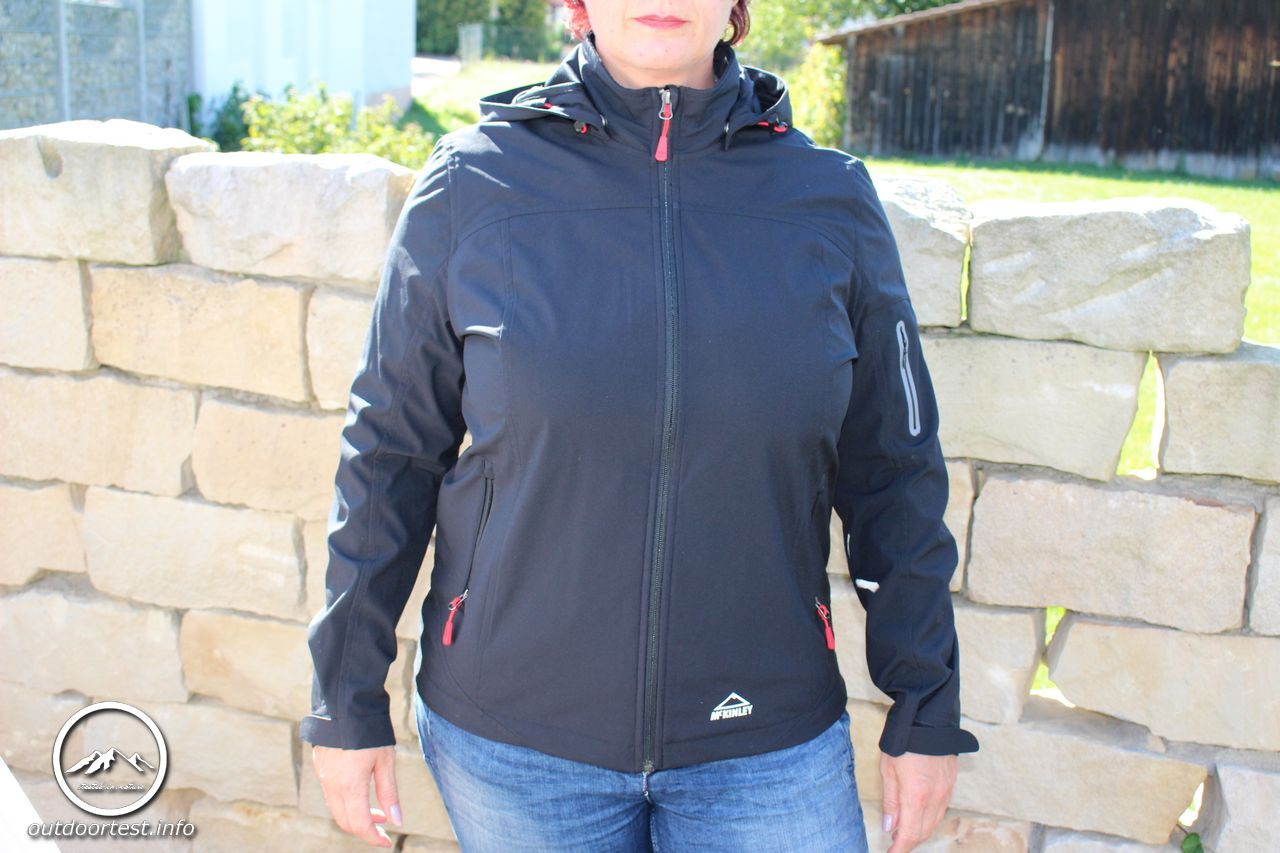 70df91f50c7be McKINLEY Damen Kapuzen Softshelljacke Birch Creek 2 - Outdoortest ...