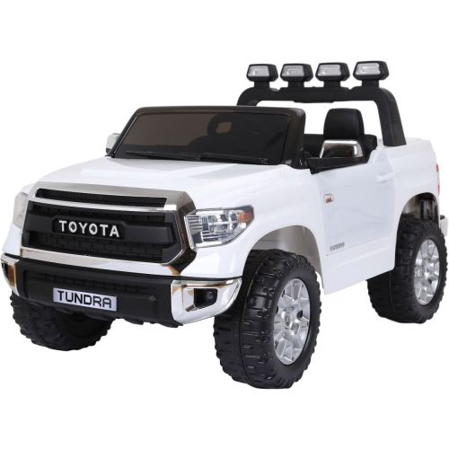 small resolution of licensed toyota hilux 12v ride on children s electric jeep pickup white